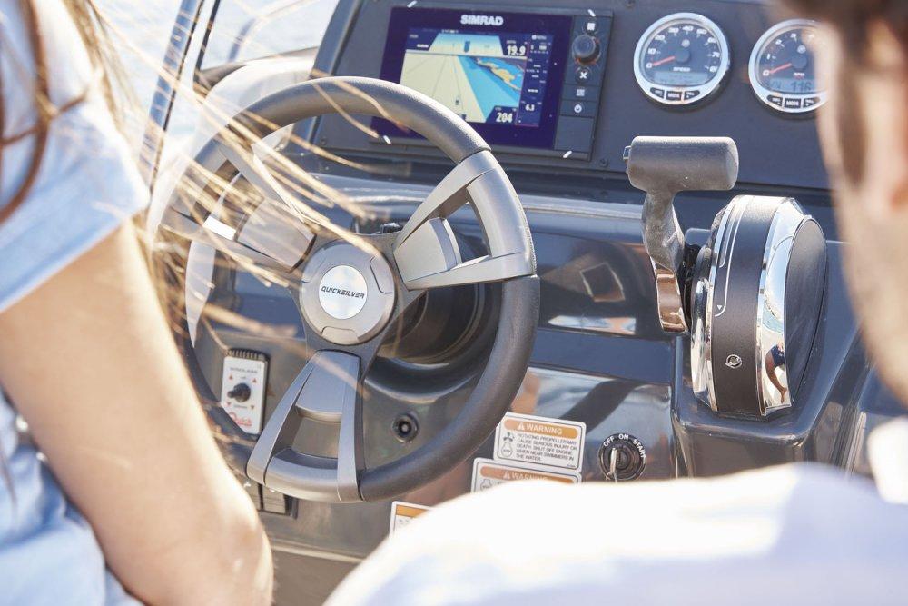 Quicksilver 605 Open 2021 Bateau neuf Bateau occasion  Moteur Mercury 115cv Moteur Mercury neuf  Auray - Vannes - Lorient  Smart Pack